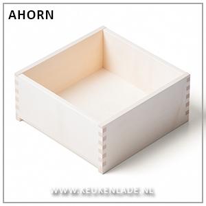 Houten lade Ahorn