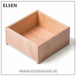 Houten lade Elsen